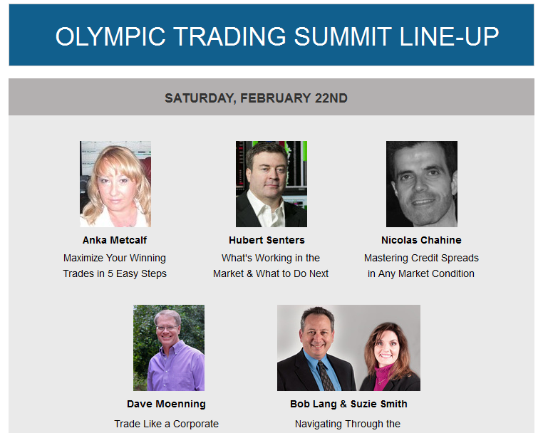 Olympic Trading Summit