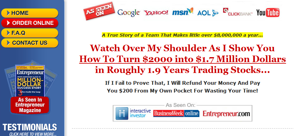 Insider Secrets Of Successful Traders