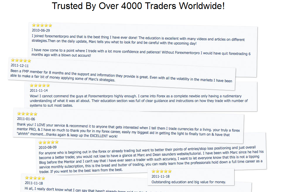 Forex Mentor PRO Service