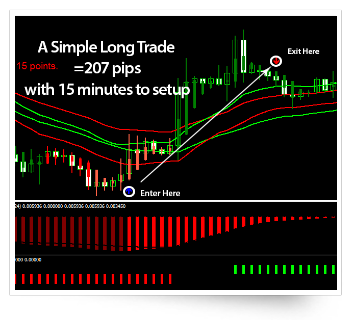 Forex+200 pips per month