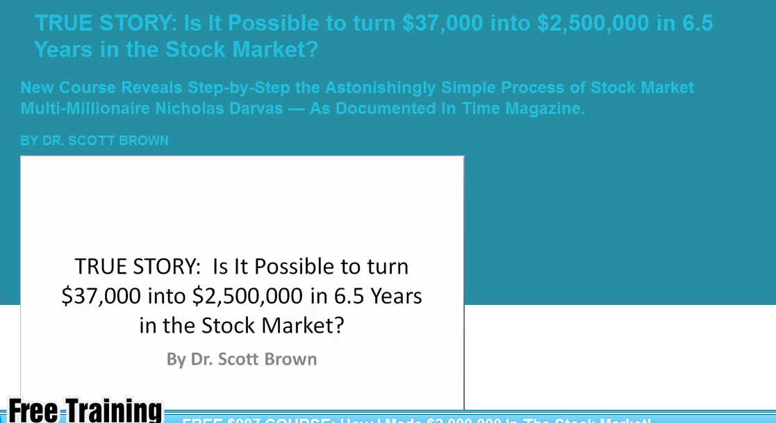 FREE Course in Stock Trading