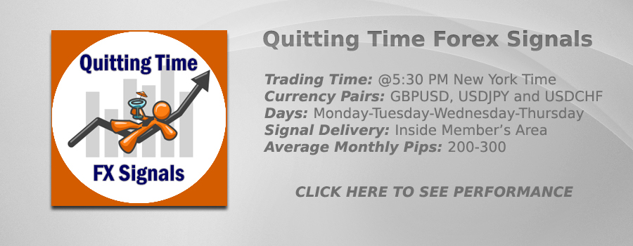 Quitting Time FX Signals