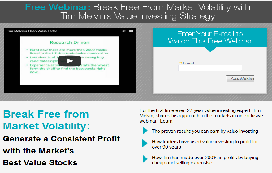 Stock Strategies by Tim Melvin